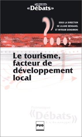 Le tourisme, facteur de développement local