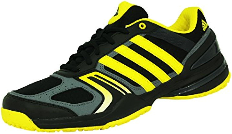 adidas performance rally cour oc noir tennis gris d'hommes tennis noir jaune torsion a2a131