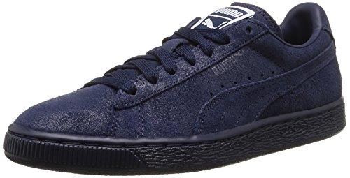 Puma Classic, Sneakers Basses femme Bleu (Peacoat/Peacoat)