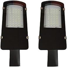 D'Mak™ 50 Watt Waterproof White Street Light Outdoor Industrial LED Light Pack of 02 with 2 Year Warranty