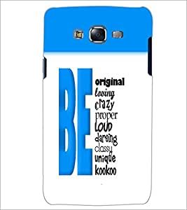 PrintDhaba Quote D-5969 Back Case Cover for SAMSUNG GALAXY ON 5 (Multi-Coloured)