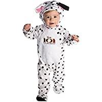 Disney Baby 101 Dalmatian Patch Plush All-in-One Costume with Feature Hat