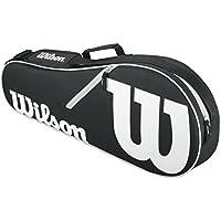 Wilson Advantage Ii - Raquetero, color negro/blanco, talla NS