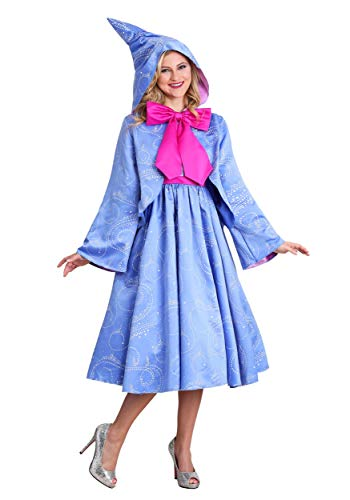Disguise Limited Disney Cinderella Fairy Godmother Women's Fancy Dress Costume Medium