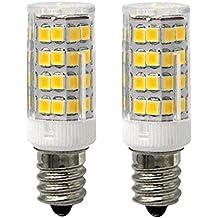 Bombilla LED de cerámica E17 para microondas de horno, 5 W (40 W equivalente