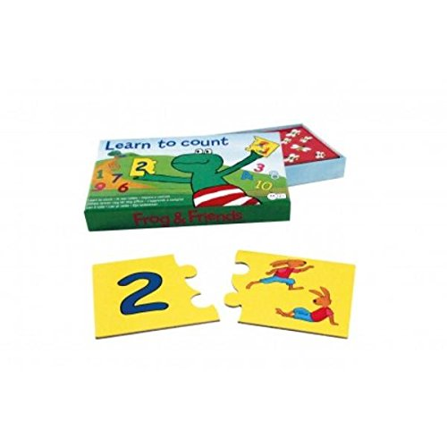 Frog and Friends Juego Educativo Aprendo a Contar (Barbo Toys 7751)
