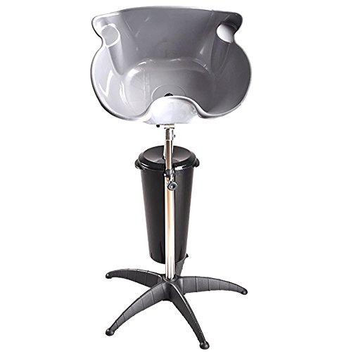 Tragbar Friseur Waschbecken Basin Mobiles Shampoo Schüssel Becken Stand Einstellbar Höhe Haar Waschen Sinken Becken Salon Barbier Waschen PP Material