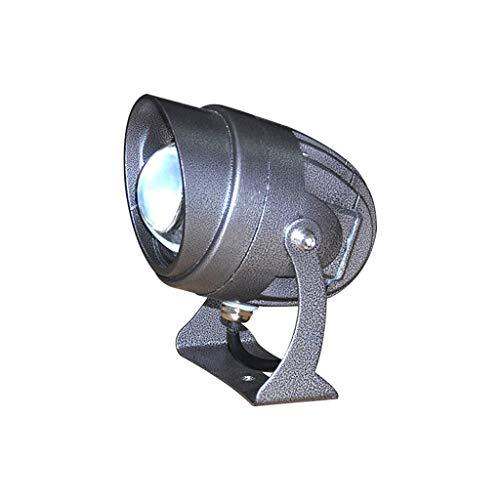 XEX LED Strahler Mit, Farbige Strahler Für Brückenbau Außenbeleuchtung EIN Lichtstrahl, Große Reichweite (Color : Blue Light)