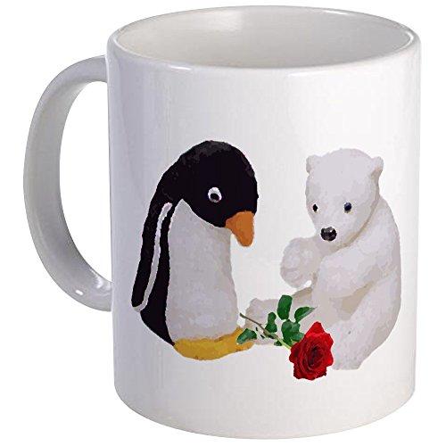 41C5W7uvEqL Tasse mit Pinguin Motiv