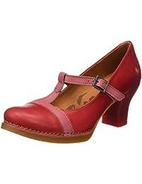 ART 0925 Star Harlem, Chaussures avec Bande Verticale Femme