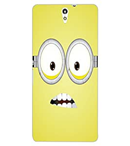 ColourCraft Cartoon Design Back Case Cover for SONY XPERIA C5 ULTRA DUAL