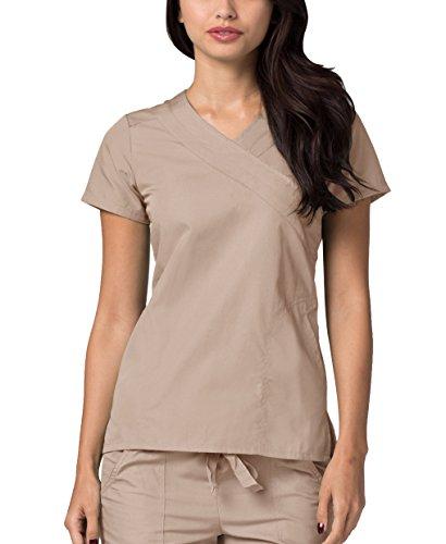 Adar uniformi mediche camice da donna parte superiore infermiera ospedale da lavoro - 2630 colore: kki | dimensione: xxs