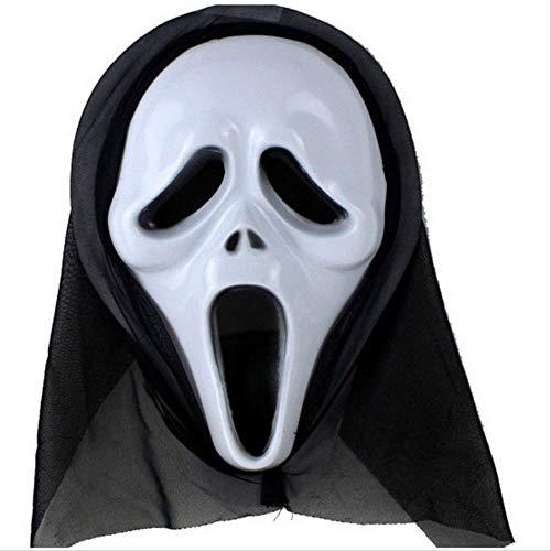 baoqsure Halloween-einzelstück Lange Gesichtsmaske Sneaky Maske Schreien Hexenmaske ()