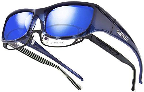 b30b6ebe648 Jonathan Paul Fitovers pequeño euroka azul polar azul espejo de madera de  ébano OveRx gafas de
