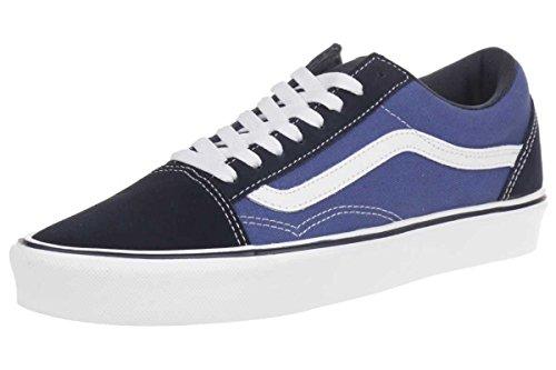 vans-old-skool-lite-plus-unisex-erwachsene-sneakers-blau-suede-canvas-navy-white-43-eu