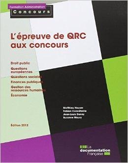 L'preuve de QRC aux concours de Matthieu Houser,Fabien Conntable,Jean-Louis Doney ( 10 octobre 2012 )