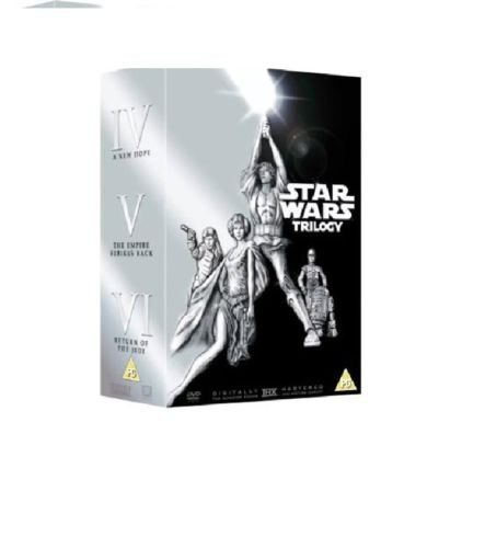 Star Wars Original Trilogy Box Set DVD Sehr selten Episode 456IV V VI versiegelt UK