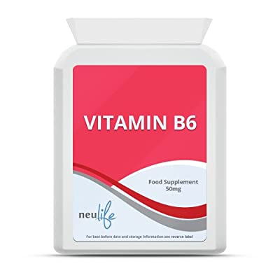 Vitamin B6 50mg - 60 Tablets from Neulife Health & Fitness Supplements