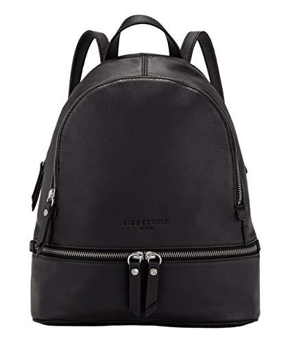 Liebeskind Berlin Damen Bos - Alita Backpack Medium Rucksackhandtasche, Schwarz (Black), 11x32x26 cm