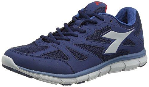 Diadora - Hawk 4, Sneaker Unisexe - Adulte Classique Bleu / Gris