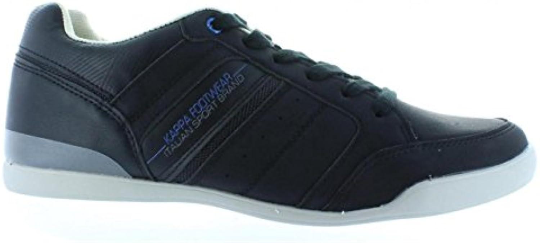 Kappa Sneaker für Herren 303N1T0 BATOU 986 Black Dark Grey Schuhgröße 46