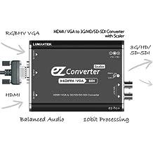 Conversor/Escalador de Vídeo LUMANTEK EZ Converter HDMI/VGA to 3G/HD/SD-SDI
