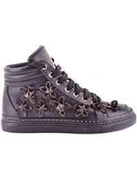Amazon.fr   basket montante femme - Dsquared2   Chaussures et Sacs 9655295eda73