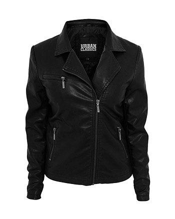 Urban Classics Ladies Biker Jacket black