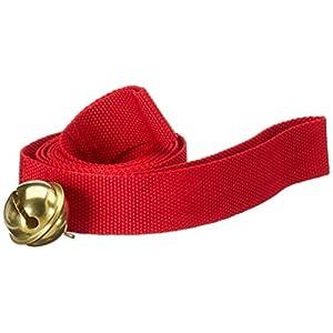 ScSPORTS Schlitten Ziehgurt mit Glocke in rot, 10000944