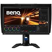 """BenQ PV270 - Monitor de post-producción de vídeo (27"""" 2K QHD, 2560 x 1440, 100% Rec.709, 96% DCI-P3, panel IPS, calibración de hardware, función de uniformidad de brillo) color negro"""