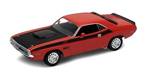 1970-dodge-challenger-t-a-welly-24029-arancione-nero-124-die-cast