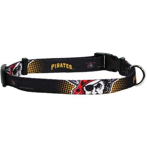 hunter-mfg-pittsburgh-pirates-dog-collar-extra-small