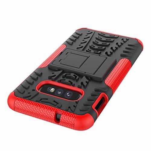 Das beste Zubehör für Samsung Galaxy S10E !!! Robustes 5,8-Zoll-Hybridgehäuse aus robustem Hartgummi für PC-Ständer (Generation 5. Ipod-wasser-fall)