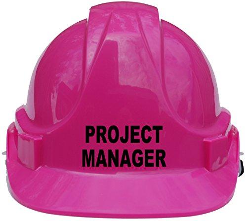 """Kinderhelm \""""Project Manager\"""", Schutzhelm mit Kinnriemen, eine Größe verstellbar, geeignet von 4-12Jahren, entspricht Sicherheitsstandard EN397, rosa"""