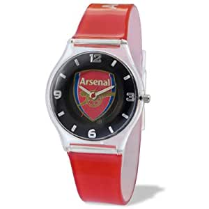 Official Arsenal FC Kids Watch - A great gift / present for boys, sons, friends, for Christmas, Birthdays, Valentines Day or just as a treat for and avid football fan