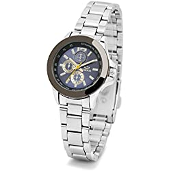 Wishar Simple fashion lovers Watches Orascom series watches for women three six-pin - Lady Blue