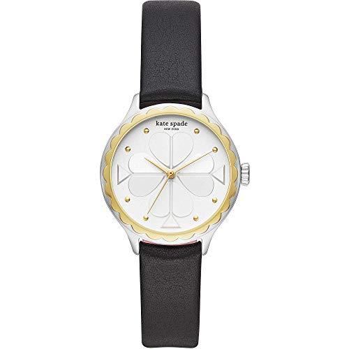 Kate Spade New York Rosebank - Damen Armbanduhr Leder Schwarz - KSW1536