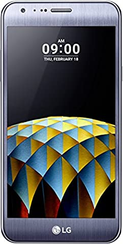 LG X Cam Smartphone (13,2 cm (5,2 Zoll) Touch-Display, 16 GB interner Speicher, Android 6.0) titan