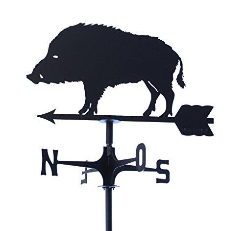 Wetterfahne markiert Wind Wildschwein. Hergestellt In Italien.