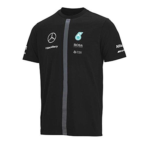 MERCEDES AMG PETRONAS Herren T-Shirt schwarz