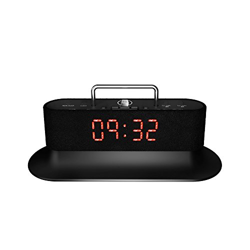 iphone 5 speaker dock mercury speaker station alarm clock fm radio 3417
