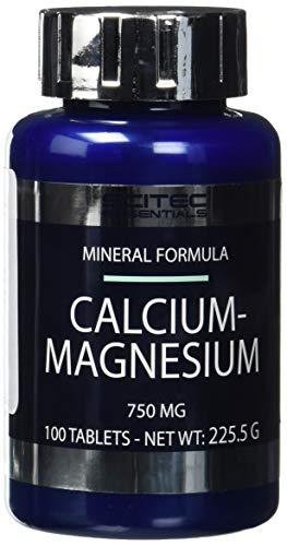 Oyster Shell Calcium (SCITEC Calcium-Magnesium - 100 tablets (8%))
