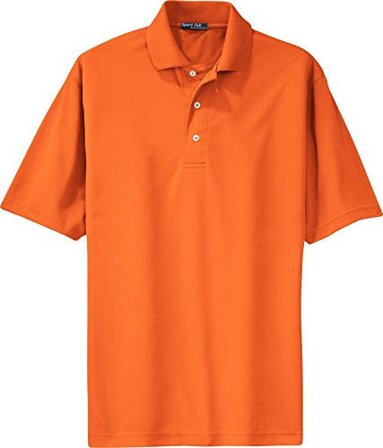 Dri-mesh Short (Sport-Tek® Dri-Mesh® Polo. K469 Bright Orange XL)