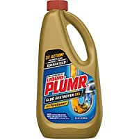 Liquid-Plumr Pro-Strength Clog Remover, Full Clog Destroyer, 32 Fluid Ounces (1 Pack)