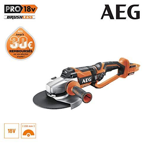 AEG Akku und Ladegerät sind als Zubehör optional erhältlich