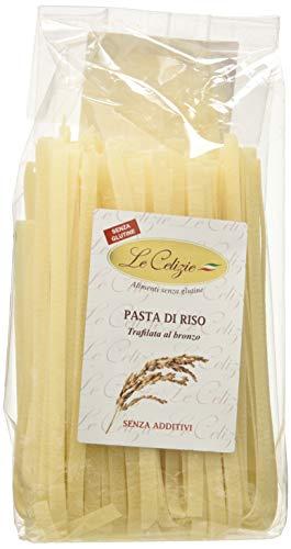 Le Celizie Tagliatelle di Riso - Pacco da 50 x 8 gr - Totale: 400 gr, Senza glutine