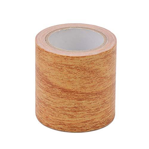 LANDUM 5M / Rolle Realistische Woodgrain Repair Adhensive Klebeband 8 Farben für Möbel (Holz-finish Reparieren)