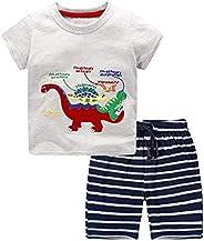 Nwada Ropa Bebe Niño Conjunto Camiseta y Pantalon Corto Disfraz Verano Traje Chandal Primavera Pijama 18 Meses