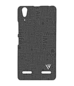 Vogueshell Think Different Apple Printed Symmetry PRO Series Hard Back Case for Lenovo A6000