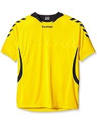 Hummel Team Player - Camiseta de equipo unisex, color amarillo / negro (sports yellow / black), talla 3XL